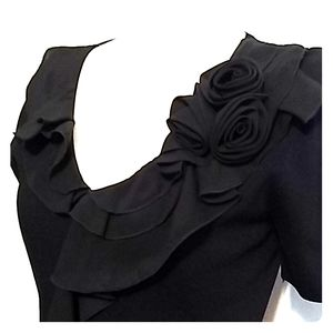 Cable&Gauge ruffle top